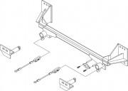 Roadmaster Ez2 Bracket Kit   NT14-0617  - Base Plates