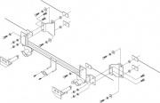 Roadmaster Ez2 Bracket Kit   NT14-0650  - Base Plates