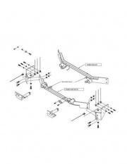 Roadmaster Mounting Bracket   NT14-2224  - Base Plates