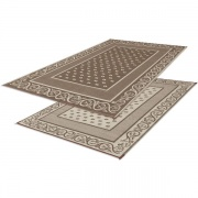 Faulkner Patio Mat Vineyard 6X9 Beige   NT01-0086  - Camping and Lifestyle