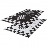 Faulkner Patio Mat Finish Line 6X9   NT01-0448  - Camping and Lifestyle - RV Part Shop USA