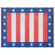 Faulkner Patio Mat Independence Day 8X16   NT01-0641  - Camping and Lifestyle - RV Part Shop USA
