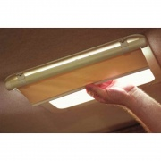 Camco Retractable Lights Out Vent Shade (Cream)  NT01-1019  - Shades and Blinds - RV Part Shop USA