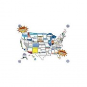 State Stickers Removable State Stickers Kit   NT03-0129  - Games Toys & Books - RV Part Shop USA