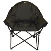 Faulkner Big Dog Chair Black   NT03-0297  - Camping and Lifestyle