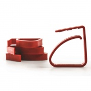 Camco Red RV Tablecloth Clamps 4 Count  NT03-0569  - Camping and Lifestyle - RV Part Shop USA