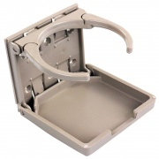JR Products Adjustable Drink Holder Tan   NT03-0667  - Interior Accessories
