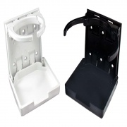 JR Products Adjustable Drink Holder White   NT03-0668  - Interior Accessories