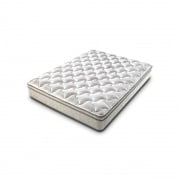 "Lippert Short Queen Mattress, Rest Easy Euro Top, 60\"" X 75\\"" X 9\\""  NT03-0787  - Bedding"