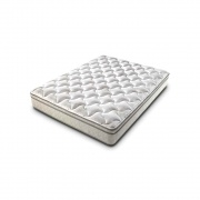 "Lippert King Mattress, Rest Easy Euro Top, 76\"" X 80\\"" X 9\\""  NT03-0792  - Bedding"