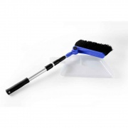 Camco Adjustable Broom w/Dust Pan   NT03-1180  - Kitchen