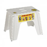 "B&R Plastics 12\"" Step Stool White   NT03-1216  - Step and Foot Stools"