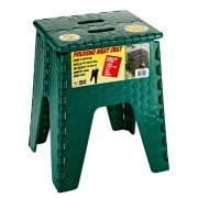 "B&R Plastics Neat Seat 15\"" Forest Green   NT03-1219  - Step and Foot Stools"