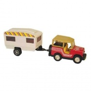 Prime Products RV Action Toy Jeep And Trailer   NT03-3023  - Games Toys & Books