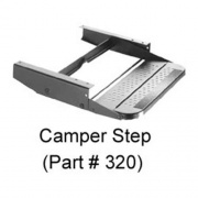 Elkhart Tool & Die Step Single 20 Wide 3In Drop   NT04-0109  - RV Steps and Ladders - RV Part Shop USA