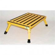 Safety Step XL Folding Step Yellow   NT04-0221  - Step and Foot Stools - RV Part Shop USA