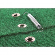 Camco Wraparound Step Rug Green 18W   NT04-0283  - RV Steps and Ladders