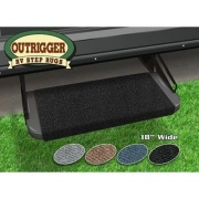 Prest-O-Fit Outrigger RV Step Rug Black 18   NT04-0304  - RV Steps and Ladders