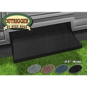 Prest-O-Fit Outrigger RV Step Rug Black 23   NT04-0305  - RV Steps and Ladders