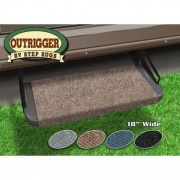 Prest-O-Fit Outrigger RV Step Rug Walnut Brown 18W   NT04-0306  - RV Steps and Ladders