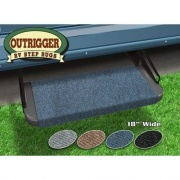 Prest-O-Fit Outrigger RV Step Rug Atlantic Blue 18W   NT04-0307  - RV Steps and Ladders