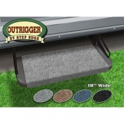 Prest-O-Fit Outrigger RV Step Rug Castle Gray 18W   NT04-0308  - RV Steps and Ladders