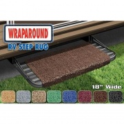 Prest-O-Fit Wraparound RV Step Rug Espresso   NT04-0314  - RV Steps and Ladders