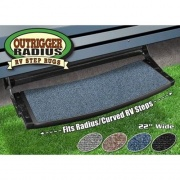 Prest-O-Fit Outrigger Radius RV Step Rug Atlantic Blue   NT04-0338  - RV Steps and Ladders - RV Part Shop USA