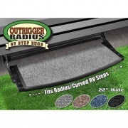 Prest-O-Fit Outrigger Radius RV Step Rug Stone Gray   NT04-0345  - RV Steps and Ladders - RV Part Shop USA
