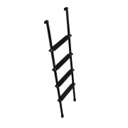 "Stromberg-Carlson Bunk Ladder 66\"" Black   NT05-0101  - Bunk Ladders - RV Part Shop USA"
