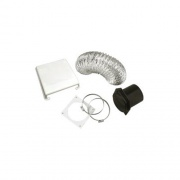 Splendide Deluxe Dryer Vent Kit Paintable   NT07-0802  - Washers and Dryers - RV Part Shop USA