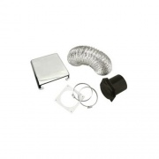 Splendide Deluxe Vent Kit Deluxe Chrome   NT07-0803  - Washers and Dryers - RV Part Shop USA