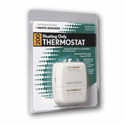 White-Rodgers Thermostat Heat Only White   NT08-0111  - Furnaces
