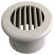 """JR Products Heat Vent 4\\"""" No Damper Tan   NT08-0182  - Furnaces"""