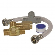 Camco Quick Turn Permanent By-Pass Kit - Lead Free  NT09-0227  - Water Heaters - RV Part Shop USA