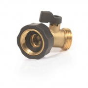 Camco Stainless Steel Solid Brass Water 45 Degree Valve  NT10-0577  - Freshwater - RV Part Shop USA