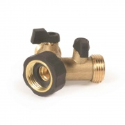 Camco Stainless Steel Solid Brass Water Wye Valve  NT10-0800  - Freshwater - RV Part Shop USA