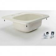Lippert Parchment 15X15 Sink w/2 Holes   NT10-5709  - Sinks