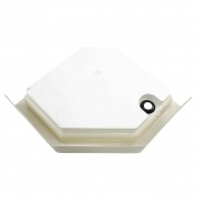 Lippert Parchment 32X32 Neo Hex Shower Pan Left-Hand   NT10-5717  - Tubs and Showers