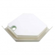 Lippert Parchment 32X32 Neo Hex Shower Pan Right-Hand   NT10-5719  - Tubs and Showers