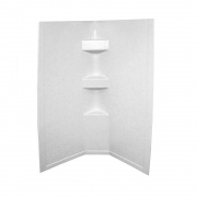 Lippert White Slate 34X34X64 Neo Tile Shower Surround   NT10-5726  - Tubs and Showers - RV Part Shop USA