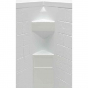 Lippert White Slate 34X34X68 Neo Tile Shower Surround   NT10-5728  - Tubs and Showers - RV Part Shop USA