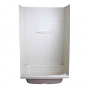 Lippert Parchment PF 24X36X59 Shower Surround   NT10-5737  - Tubs and Showers