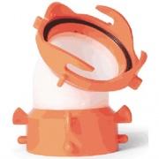 Camco Rhino Flex 45-deg Swivel Fittin   NT11-0022  - Sanitation