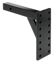 Tow Ready Pintle Hook Receiver Mount 8000 Black   NT15-0629  - Pintles - RV Part Shop USA