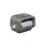 Ultra-Fab Weld-On Steel Mini Roller   NT15-1010  - Skid Wheels