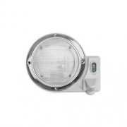 AP Products Porch Light Round White   NT18-0002  - Lighting - RV Part Shop USA