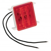 Bargman LED Wrap-Around Marker/Clearance Light Upgrade Red   NT18-0102  - Towing Electrical