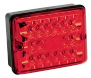 Bargman Taillight LED 86 Single Stop/Tail/Turn Black Base   NT18-0144  - Towing Electrical