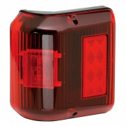 Bargman Marker/Clearance Light LED 86 Wrap-Around Red   NT18-0146  - Towing Electrical